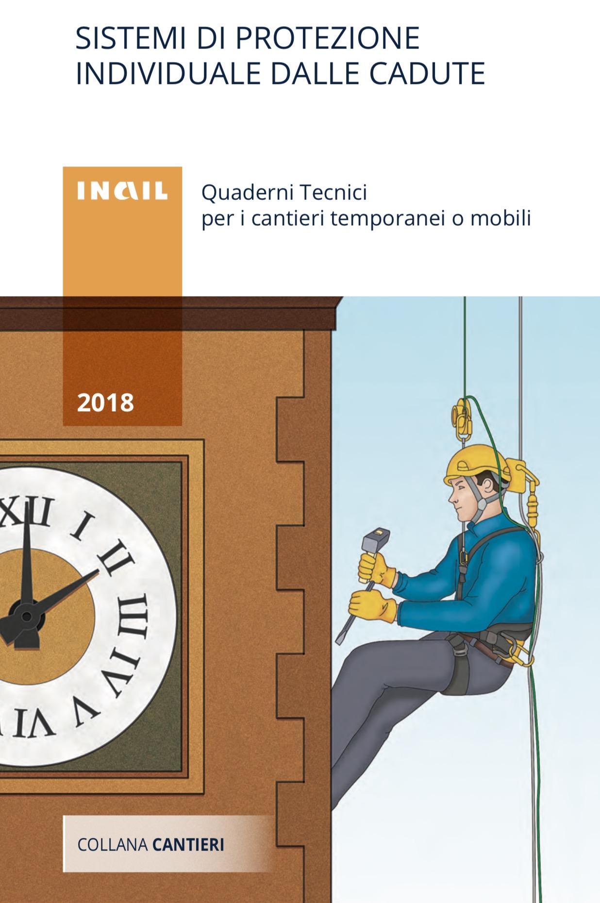 Scale e prevenzione cadute – pubblicazioni INAIL