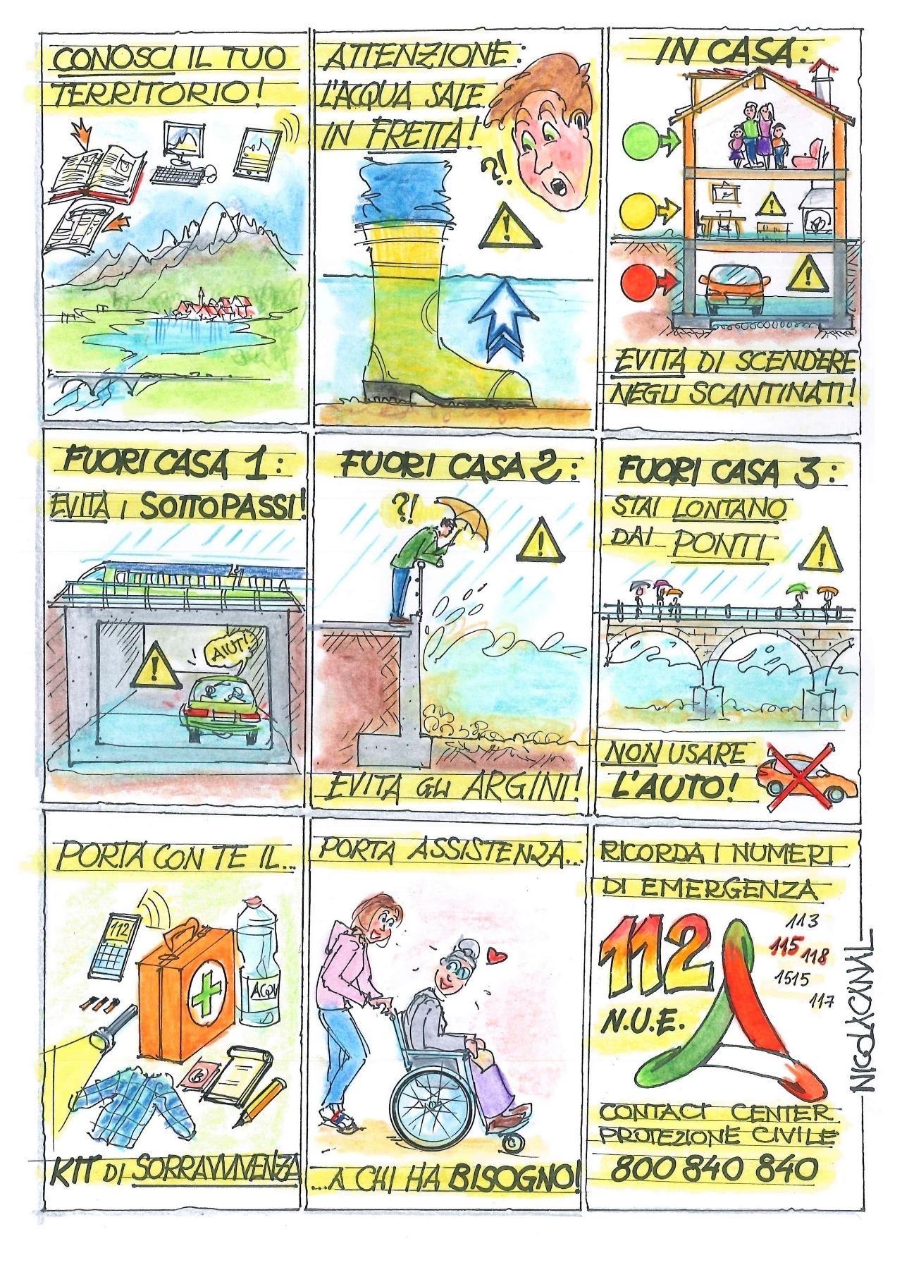 Nicola Canal e la gestione delle emergenze
