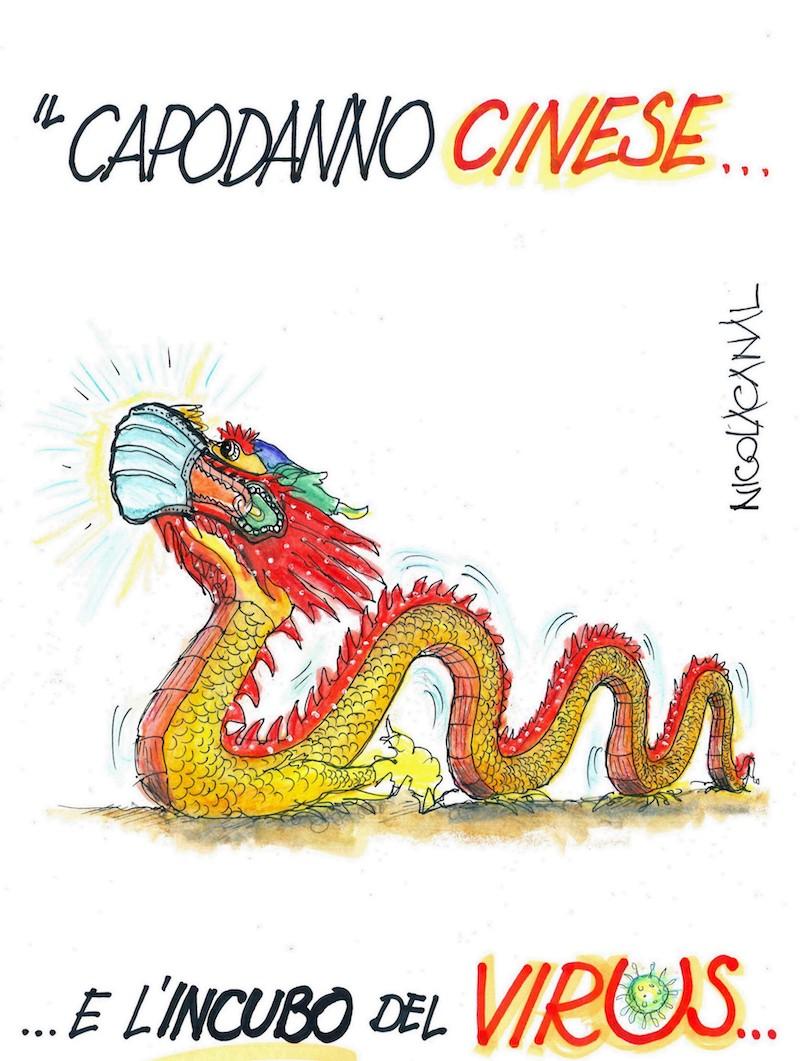 Nicola Canal: il capodanno cinese questo anno